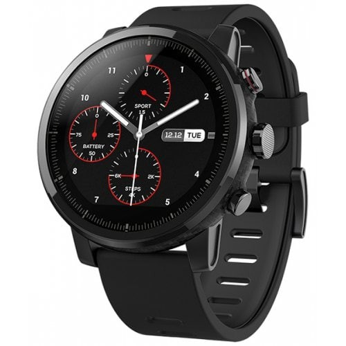 Smartwatch Amazfit Stratos A1619, Reloj inteligente multideporte, GPS, 4GB memoria interna